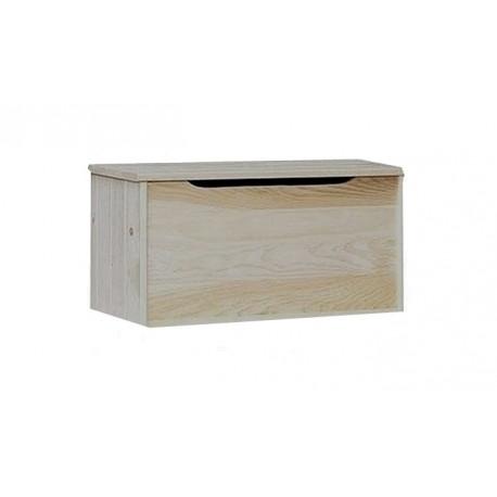 Lada depozitare din lemn natur 80x50x50 cm