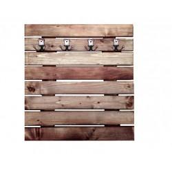 Cuier din lemn masiv 75x79 cm