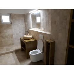Set mobilier de baie din lemn