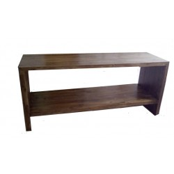 Consola pentru baie din lemn grosime lemn5,4 cm, 180/75/50 cm